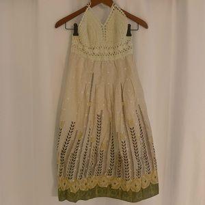 Lucy Poms crochet Top Dress